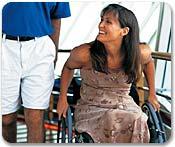 Cruzeiro com acesso para pessoas com necessidades especiais